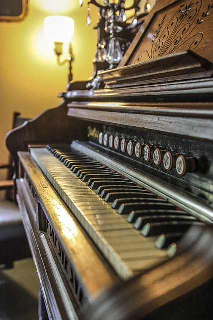 Playing the organ