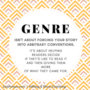 Genre helps readers find your book.