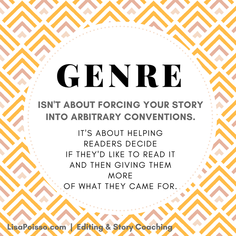 Genre is a tool.